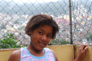 Vanessa is ten years old. She enjoys reading and taking photographs. She wants to be a teacher when she grows up.